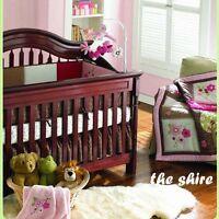 Baby Bedding Crib Cot Quilt Set 8pcs Quilt Bumper Sheet Dust Ruffle