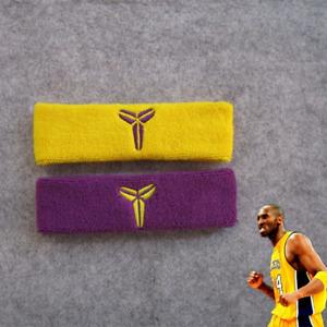 Kobe Bryant headband Basketball Lakers black mamba elastic cotton 2 colors