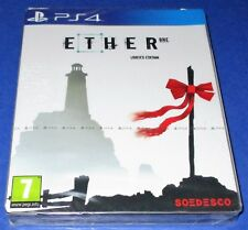 Ether One SteelBook Limited Edition PlayStation 4 *Region Free *New *Free Ship!