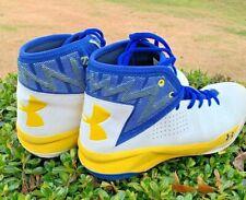 UNDER ARMOUR Steph Curry Golden State Warriors LIGHTENING Sneakers Sz 12 👞b1