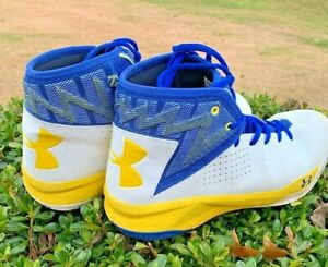 UNDER ARMOUR Steph Curry Golden State Warriors LIGHTENING Sneakers Sz 12 👞b1