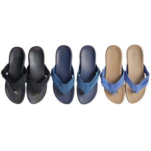 Women's Size 36 Orthotic Sandals Comfort Thongs Flip Flops Beach Arch Support