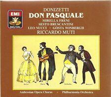 Donizetti - Don Pasquale / Freni • Bruscantini • Nucci • Winbergh [2 CD Set]