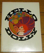 Hello Dolly Souvenir Program  1969  Barbra Streisand & Walter Matthau 48 pages