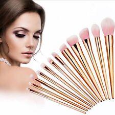 12pcs Pro Makeup Set Brushes Powder Foundation Eyeshadow Eyeliner Lip Brush Tool