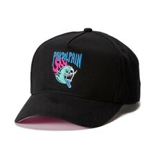 +++ NEW PINK DOLPHIN SKELETON GHOST BLACK SNAPBACK HAT CAP +++