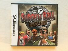 Sudoku Ball - Detective (Nintendo DS 2009) Game