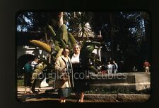 1960s Kodak Kodachrome Photo slide Lady with camera #1
