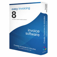 Easy Invoicing 8 - INVOICE SOFTWARE for home or small to medium sized business