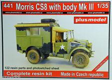 MORRIS CS8 avec châssis Mk III, WW2 - Kit résine PLUS MODEL 1/35  N° 441