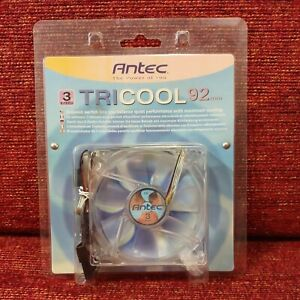 Antec TriCool 92mm Cool Fan 3-Speed Switch Quiet Performance Maximum Cooling