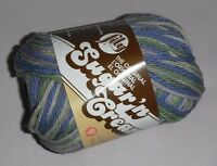 "5 Skeins, Lily, ""Sugar 'N Cream"", Country Side Ombre, 100% Cotton Yarn"