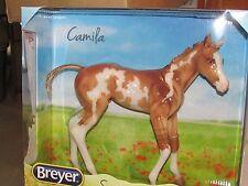 Breyer #9195 Horse Camila-Springtime Filly Glossy Red Dun Overo Pinto NIB! HUGE!