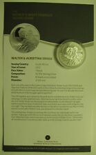 2012 1 Rand South Africa Walter Albertina Sisulu from F15 Set .925 silver fabulo
