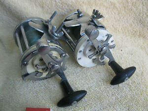 Two Old MITCHELl 600 'GARCIA' Drum Reels