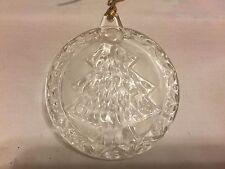 Mikasa Crystal Holiday Magic Ornament Christmas Tree