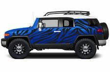 Custom Vinyl Decal Safari Wrap Kit for Toyota FJ Cruiser Parts 07-14 Matte Black