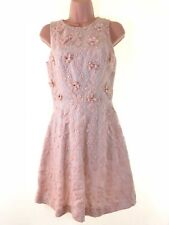 WAREHOUSE Spotlight beautiful embroidered organza lace dress size 8 euro 36