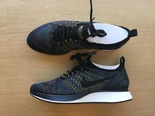 differently 04eda 2c70e WOMENS NIKE AIR ZOOM MARIAH FLYKNIT RACER PREMIUM - UK SIZE 4.5 -  BLACK MULTI
