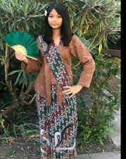 Women Ethnic Clothing Batik Kebaya  Indonesia