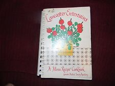 LANCASTER, PA LANCASTER MEDICAL SOCIETY AUXILIARY  Community Cook Book Receipe