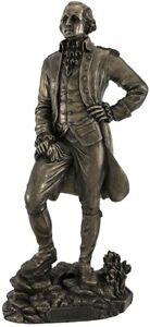 George Washington Standing Statue Sculpture Civil War **GIFT BOXED