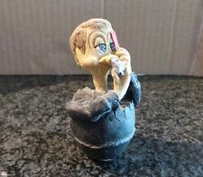 Vintage Collectible Eggbert by M Bowmer Ornament Figurine Fowl Play Football Ref