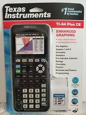 Texas Instruments TI-84 Plus CE Graphing Calculator BRAND NEW IN PACKAGE