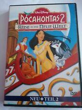 DVD Pocahontas 2 Reise in eine Neue Welt  Walt Disney