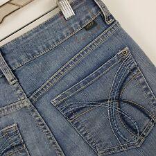 Jag Jeans Classic Fit Crop Capri Women's Blue Jeans Size 6P - 28 x 19