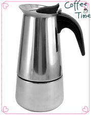 4Cup Brew fresh Stainless Steel Italian Style Expresso Coffee Maker High Quality