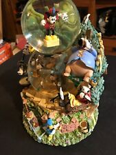 VERY RARE Disney Silly Symphonies Band Concert Snow Globe 95214