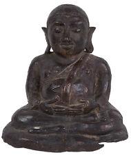 Thailand 20. Jh. - A Thai Bronze Figure Of A Seated Deity - Statuette Thaïlande