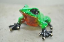 TODD SOLD OUT  Bronze Frog By the Frogman Tim Cotterill