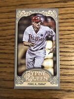 Hunter Pence 2012 Topps Gypsy Queen Mini Gypsy Back Phillies Card #2   *1458*