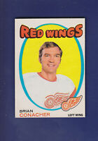 Brian Conacher 1971-72 O-PEE-CHEE OPC Hockey #138 (EXMT) Detroit Red Wings