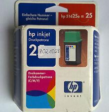 Original HP 25 hp 51625ae 3-couleurs 19,5 ml