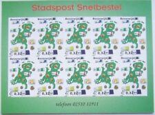 Stadspost Beverwijk 2002 - Velletje Landkaart met euro´s