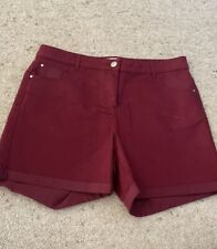 Womens Red Herring Red Shorts Size 14