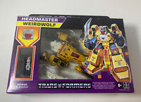 ❗️Headmaster Weirdwolf Walmart Retro Reissue Transformers G1 NEW SEALED 2021
