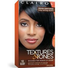 CLAIROL - TEXTURES & TONES PERMANENT HAIR COLOR DYE KIT (MULTIPLE VARIETY)