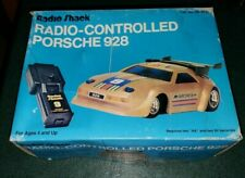 Radio Shack Porsche 928 RC Radio Controlled Car Box Gold  Not Working