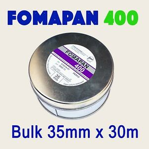Fomapan 400 ~ Bulk Roll 35mm x 30 metres ~ NEW STOCK