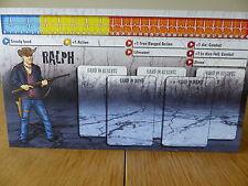 Zombicide-Ralph-Carattere Pannello Di Controllo Card (solo scheda)