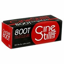 Cinestill 800Tungsten High Speed Color Film, 120 Format (Iso 800) 800120