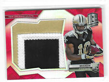 Brandin Cooks 2014 Panini Spectra Jersey Relic Patch Red Prizm Refractor /10