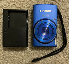 Canon PowerShot Elph 150IS PC2054 Digital Camera Blue W/ Charger