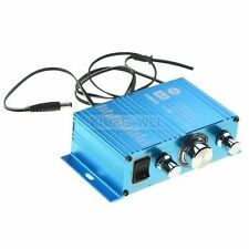 Mini Hi-Fi Audio Stereo Amplifier for Cars Motorcycle Boat Home 12V