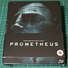Prometheus 3D Play.com STEELBOOK - NEW, Blu-Ray, RARE