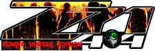 Z71 4 x 4 Zombie Hunter Vinyl Sticker Decal Cars Trucks Vans Walls Laptop